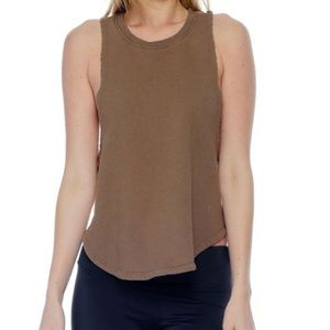 NWT Joah Brown French Terry Lazy Tank M/L